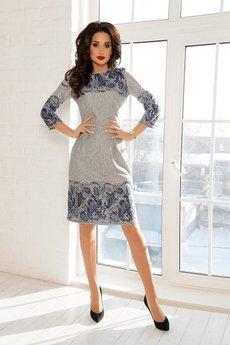 Платье отрезное по линии талии Open-Style
