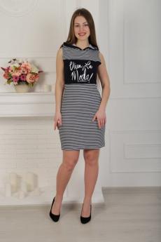 Летнее платье с капюшоном Милана со скидкой