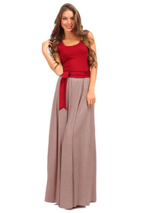 Плотное Длинное Платье